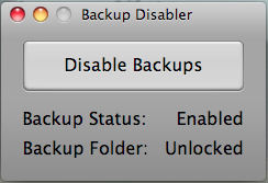 Desactiva backups en el iPhone