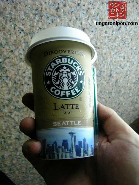 Starbucks en un konbini