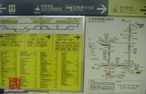 Mapa de estación