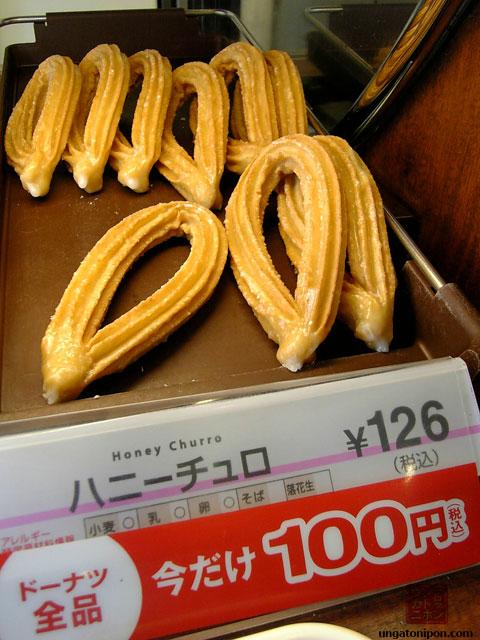 Churros en Japón