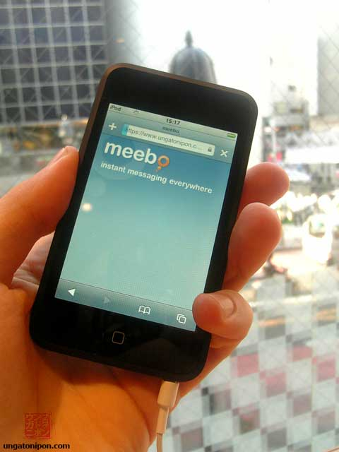 Meebo en el iPod Touch