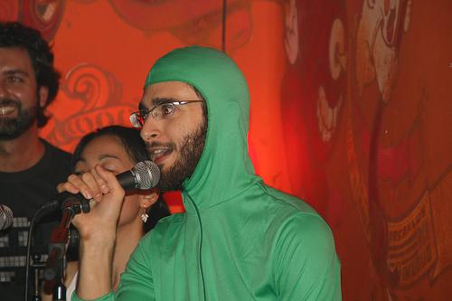 Pepino cantando