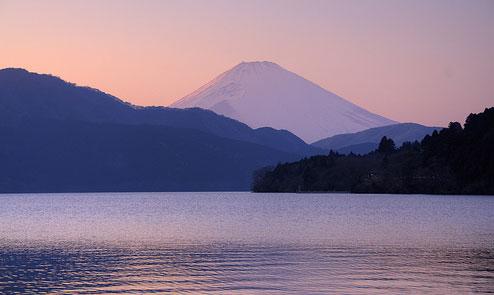 Mt. Fuji en el Ashinoko
