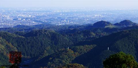 Vista de Tokyo desde Takao san