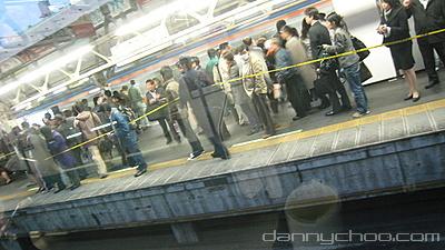 Triste suicidio en la Yamanote sen