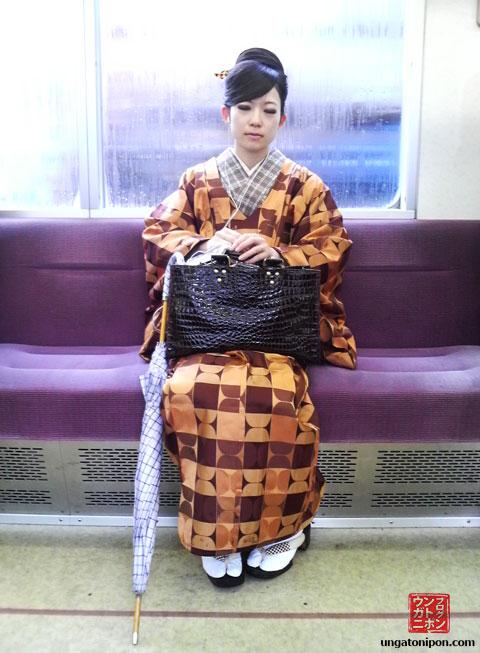 iPod + Kimono en Japón
