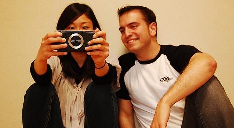 Flapy con una japonesa