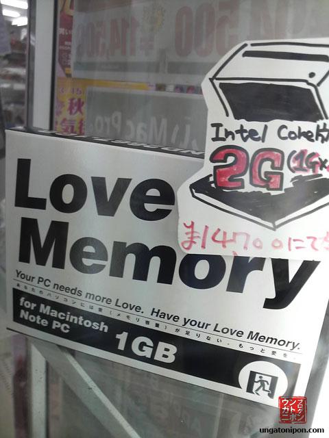 La Memoria del Amor