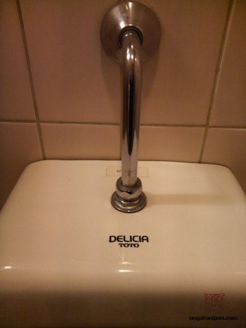 Una delicia de urinario japonés