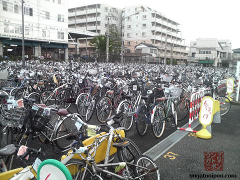 La grúa se llevó mi bici en Japón