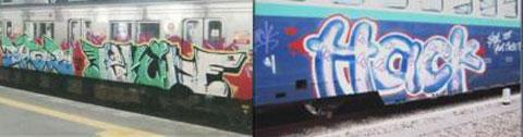 Graffitis en Japón
