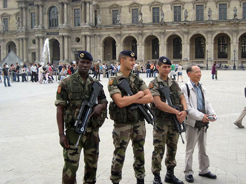 Turista japonés en París