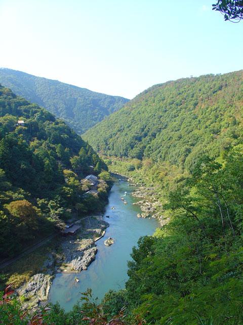 Vista desde Arashiyama
