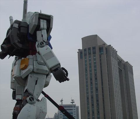 Gundam en Odaiba