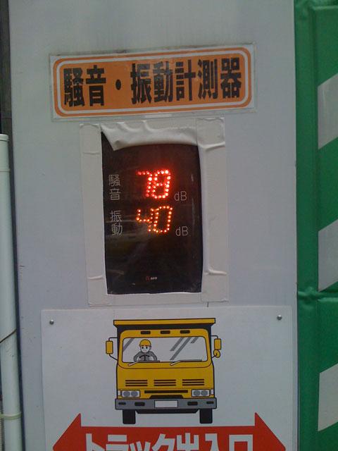 Indicador de contaminación acústica