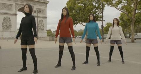 Uniqlock en París