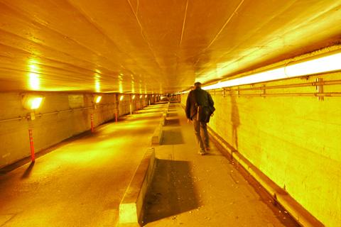 Cruzando el túnel