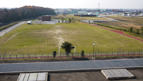 Campo de fútbol de Moria