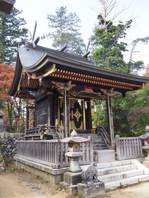 Templo en el Monte Mitake