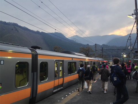 Tren de la línea Ome