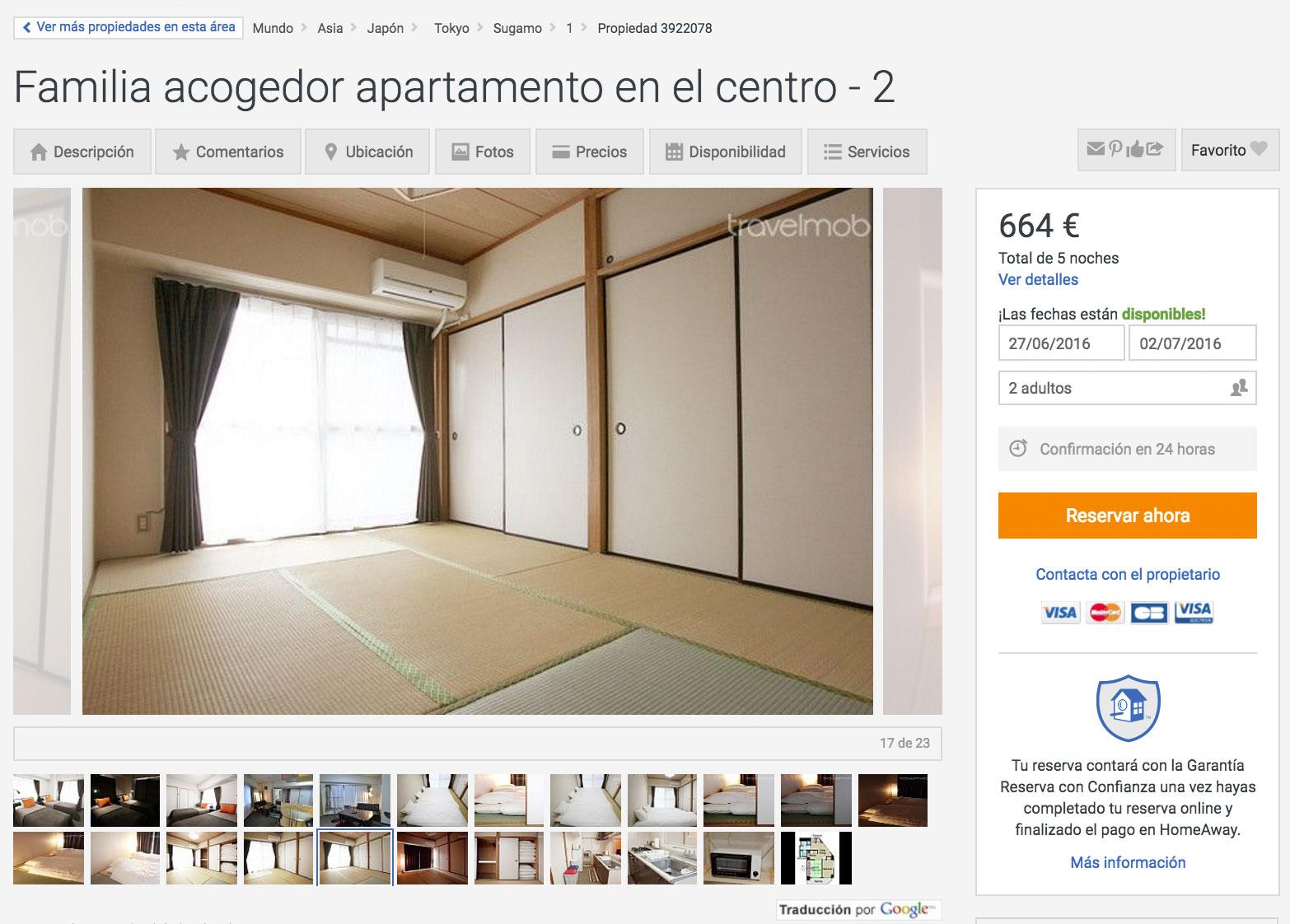 Apartamento con habitación de Tatami en Tokio
