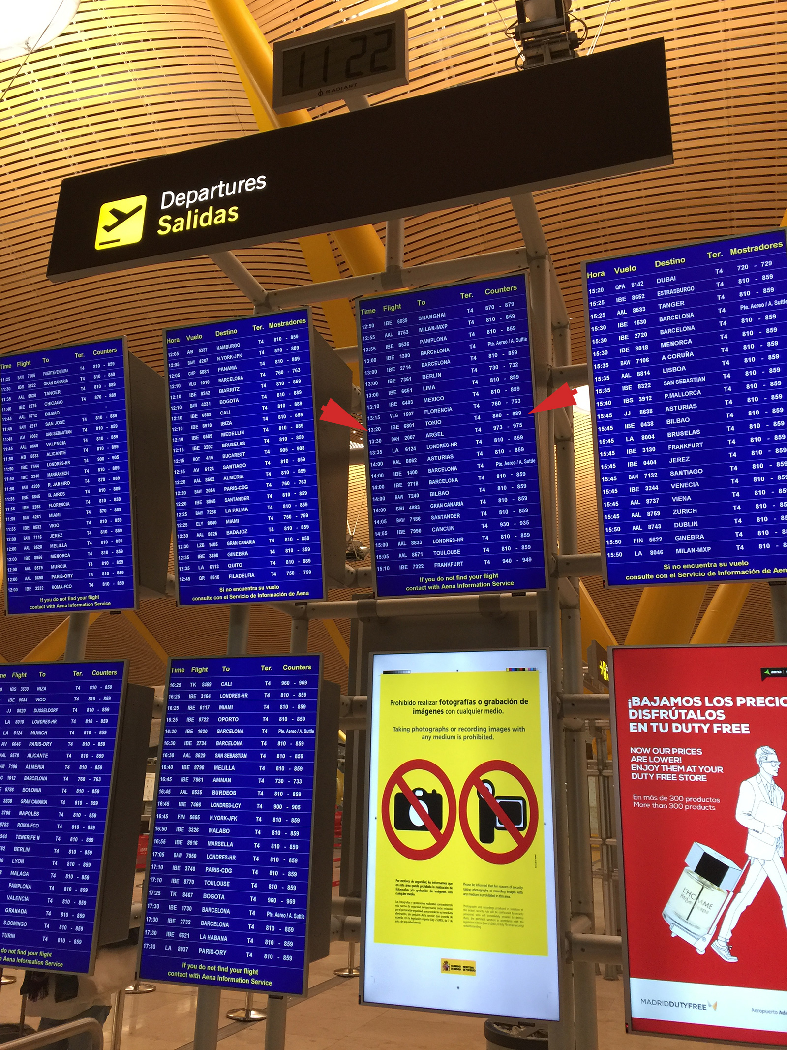 Tokio en la lista de destinos de Madrid Barajas