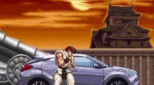 Anuncio de Toyota con el Street Fighter II