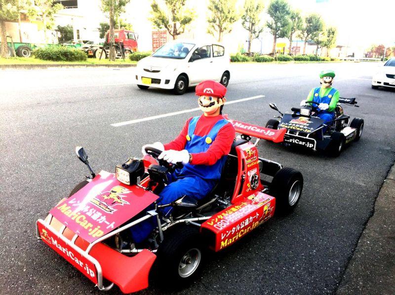 Mario Kart en Tokio