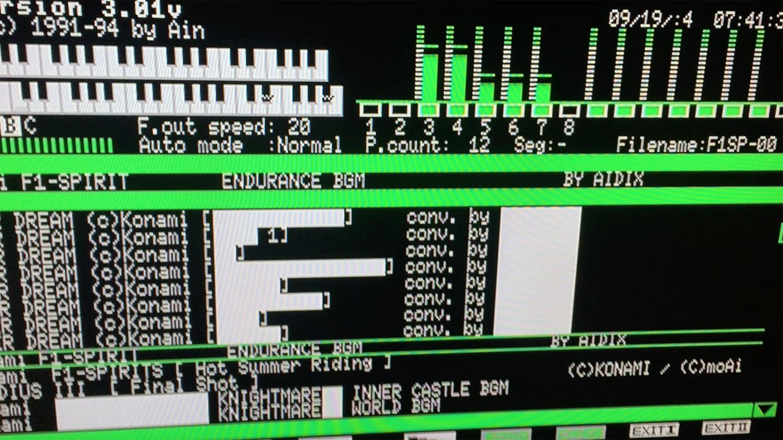 Reproduciendo un MOD de un juego de MSX