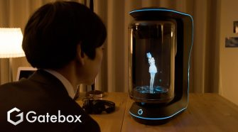 Holograma de asistente virtual de Gatebox