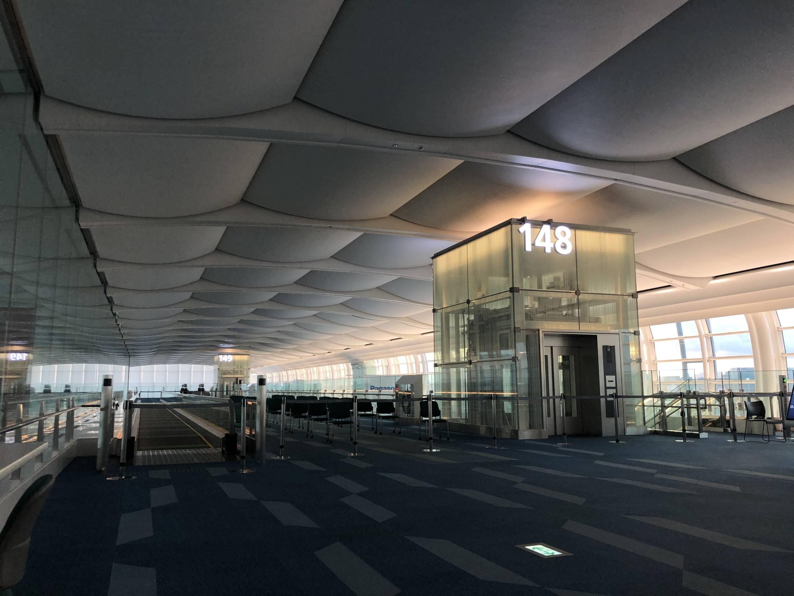 Terminal 3 de Haneda casi vacía durante la pandemia