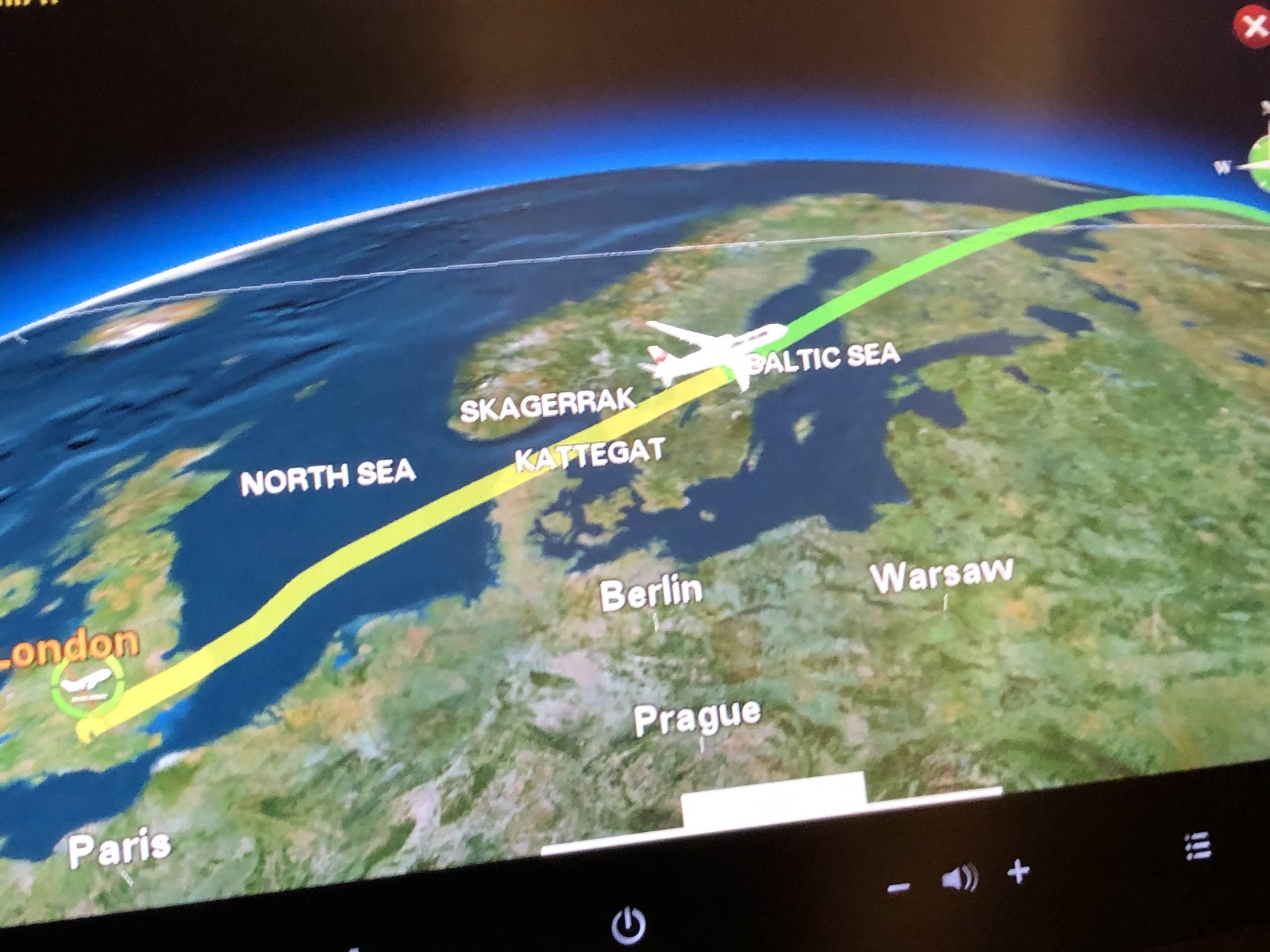 Volando de Madrid a Tokio con Japan Airlines