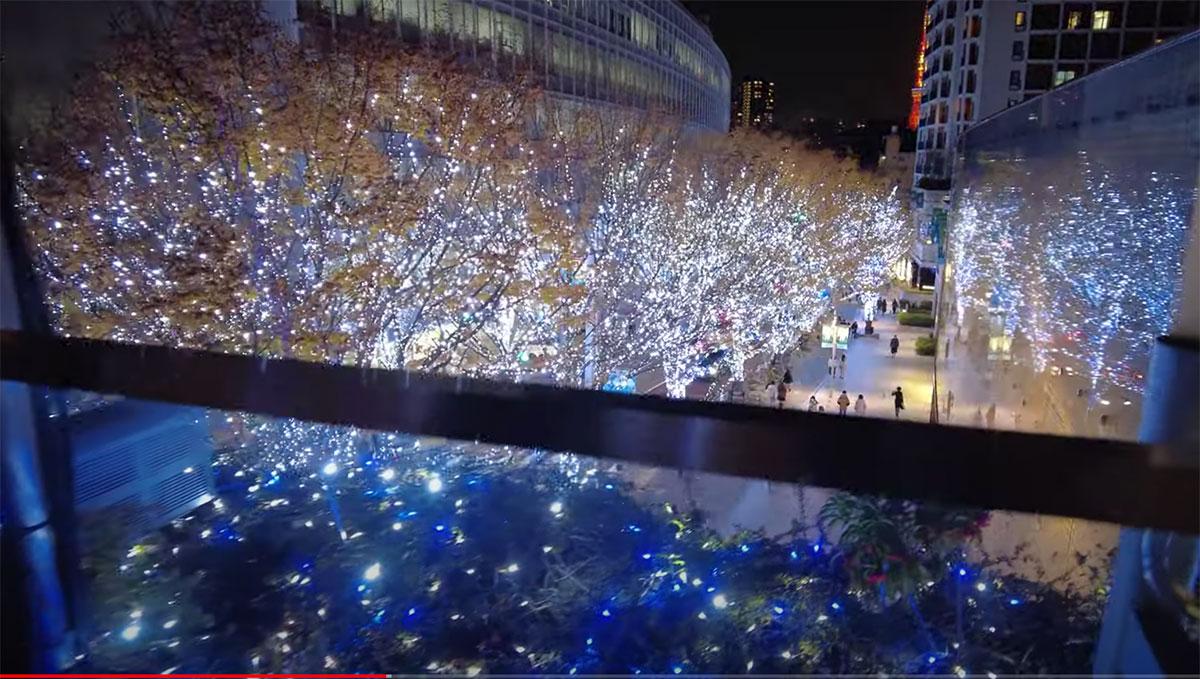 Iluminación navideña de Roppongi Hills